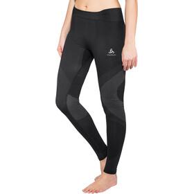 Odlo Suw Performance Warm Bottom Pants Damen black-odlo concrete grey